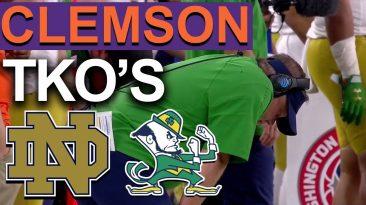 clemson vs notre dame reaction n 366x205 - Clemson vs Notre Dame Reaction (No Highlights Football Fans)