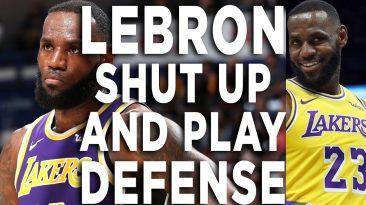 lebron james post game rant reac 366x205 - LeBron James Post Game Rant Reaction: Shut Up & Play Defense