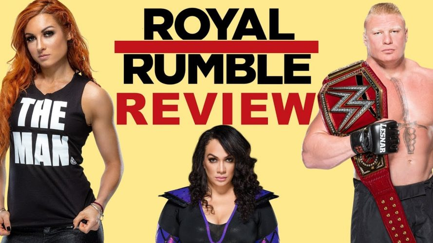 royal rumble 2019 review recap r 889x500 - Royal Rumble 2019 Review, Recap, Results; WWE PPV Sucked?