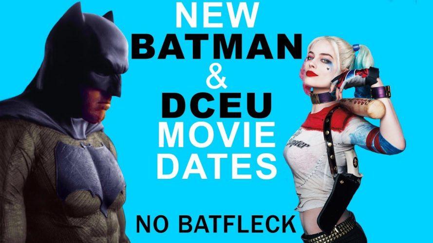 the batman 2021 release date no 889x500 - The Batman 2021 Release Date; No Ben Affleck! New DC Movies!