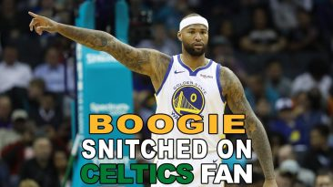 demarcus cousins celtics fan ban 366x205 - Demarcus Cousins: Celtics Fan Banned; Verbal Abuse Comments