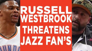 russell westbrook utah jazz fan 366x205 - Russell Westbrook Utah Jazz Fan Fight Reaction & Highlights