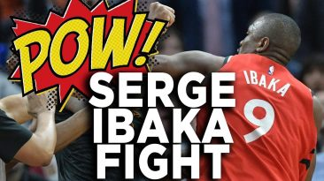 serge ibaka fight highlights mar 366x205 - Serge Ibaka Fight Highlights Marquese Chriss Punch Reaction