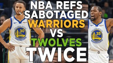 warriors vs timberwolves highlig 366x205 - Warriors Vs Timberwolves Highlights; Blown Calls Reaction?