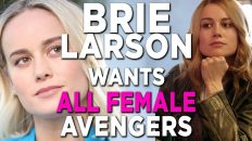 brie larson interview wants mcu 232x130 - Brie Larson Interview: Wants MCU All Female Avengers Movie