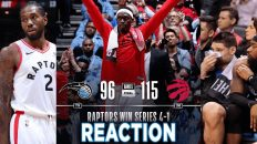 toronto raptors vs orlando magic 232x130 - Toronto Raptors vs Orlando Magic Game 5 NBA Playoffs Reaction
