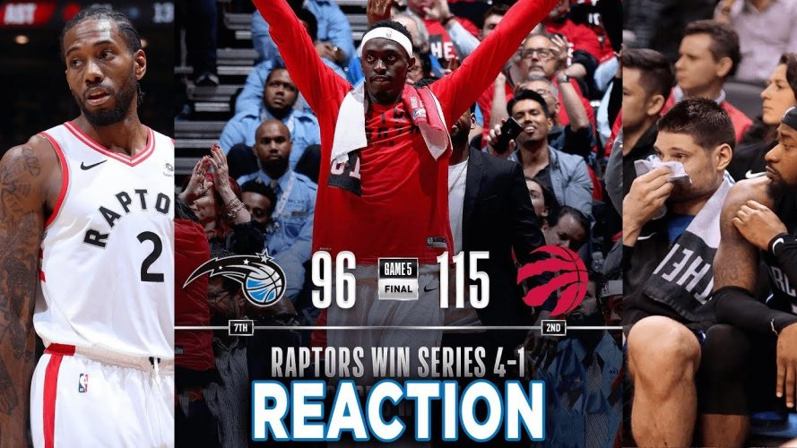 toronto raptors vs orlando magic 889x500 - Toronto Raptors vs Orlando Magic Game 5 NBA Playoffs Reaction
