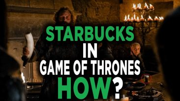 daenerys game of thrones starbuc 366x205 - Daenerys Game of Thrones Starbucks Cup in Season 8 Episode 4
