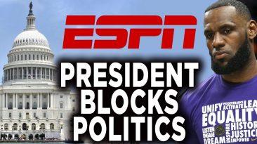 espn president jimmy pitaro admi 366x205 - ESPN President Jimmy Pitaro Admits Its Not A Political Channel