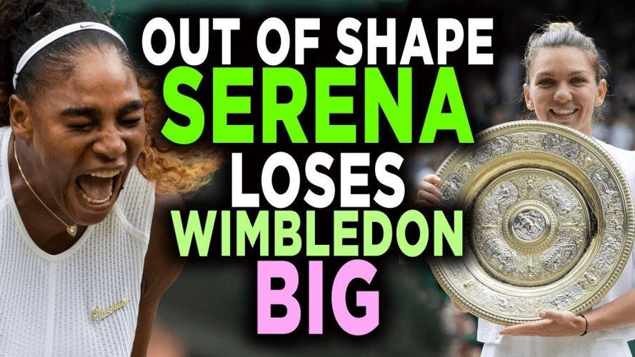 serena williams vs simona halep 889x500 - Serena Williams vs Simona Halep Wimbledon 2019 Final Reaction
