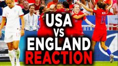 usa vs england womens soccer 201 232x130 - USA vs England Women's Soccer 2019 World Cup Reaction Recap