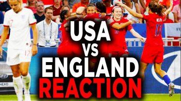 usa vs england womens soccer 201 366x205 - USA vs England Women's Soccer 2019 World Cup Reaction Recap