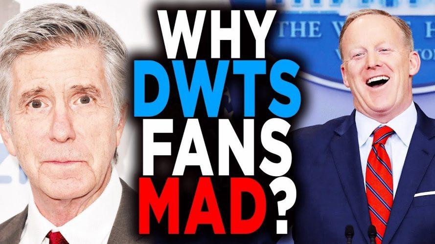 dwts cast sean spicer tom berger 1 889x500 - DWTS Cast Sean Spicer; Tom Bergeron Reaction & Fans Boycott