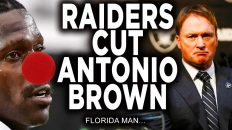 antonio brown released by oaklan 232x130 - Antonio Brown Released By Oakland Raiders Reaction! AB Cut!