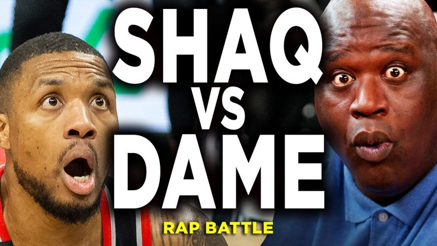 1722 889x500 - Shaq vs Damian Lillard NBA Rap Battle Diss Track Reaction