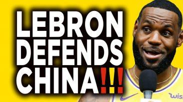 lebron james interview defends c 366x205 - LeBron James Interview Defends China & NBA: King Hypocrite!