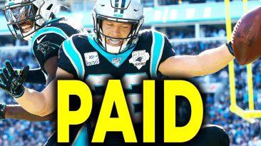 carolina panthers christian mcca 366x205 - Carolina Panthers Christian Mccaffrey Now Highest Paid RB In NFL History